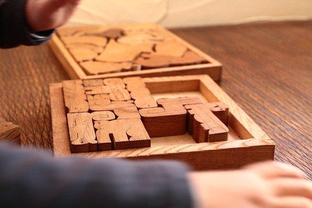 houten kinderpuzzel
